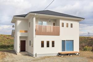 材質と性能にこだわった心地良い家